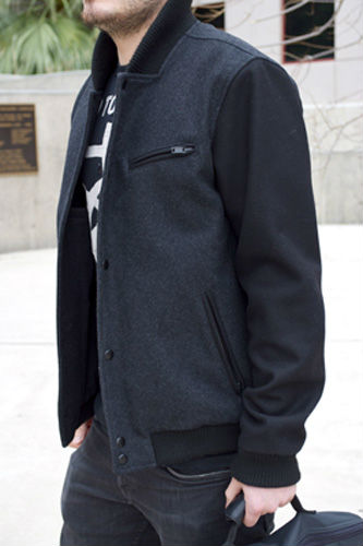Loc marco letterman jacket