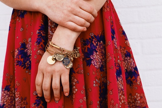 College street style at University of Missouri - bracelets