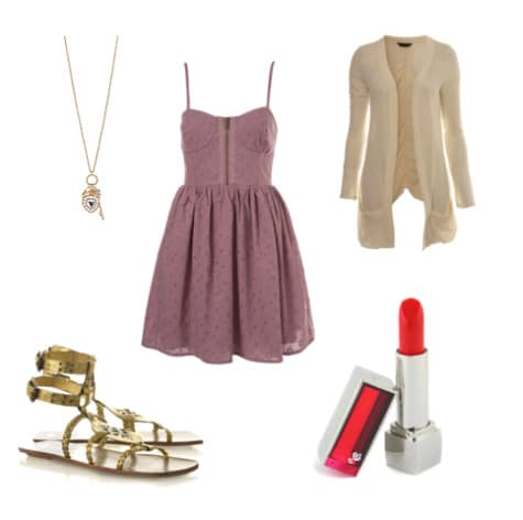 Outfit inspired by Locks of Love at the Ponte Vecchio