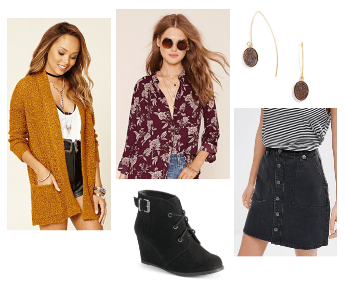 fall outfit inspired by LOFT