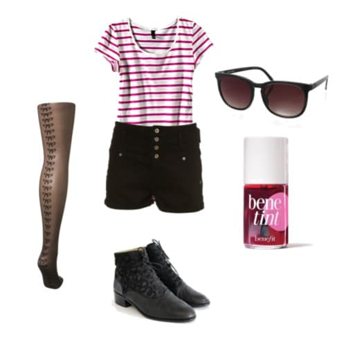 London style inspired outfit