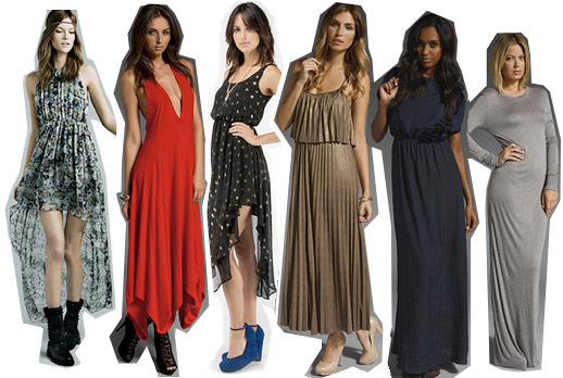 Long dresses for the holidays