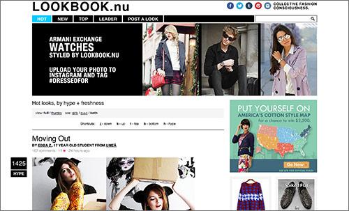 Lookbook nu screenshot