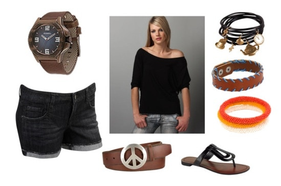 Outfit inspired by University of Miami street style
