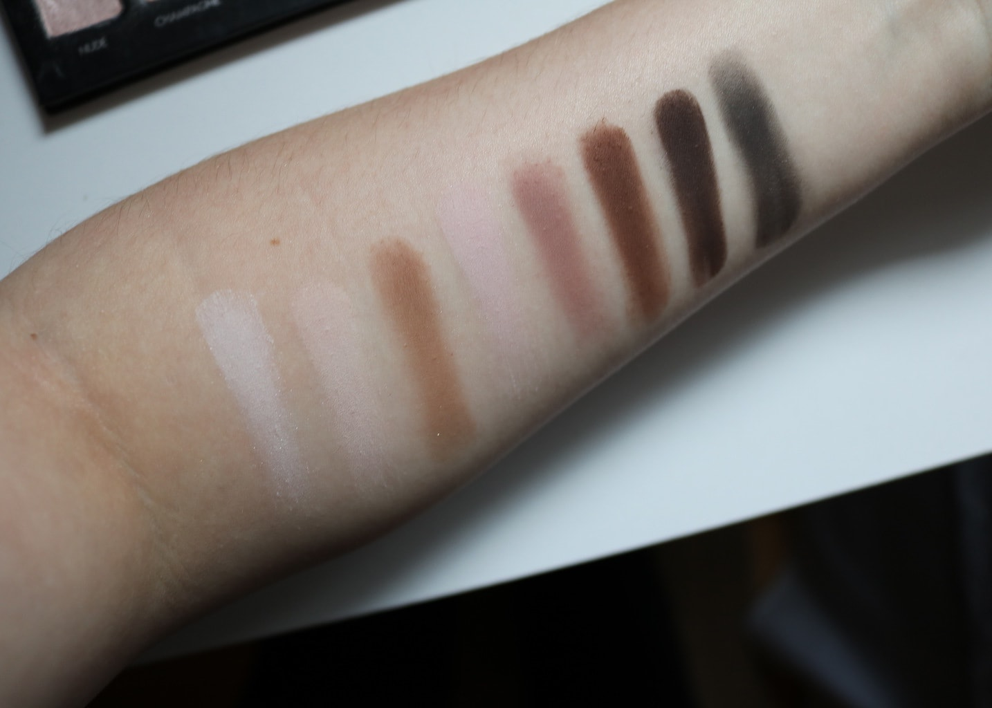 Lorac Pro Swatches (Top Row)
