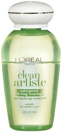 L'oreal clean artiste makeup remover