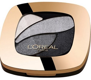 L'Oreal Paris Colour Riche Dual Effects Eyeshadow Quad in Incredible Grey