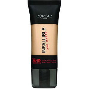 loreal foundation infallible matte