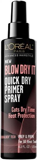L'oreal paris blow dry it quick dry primer spray