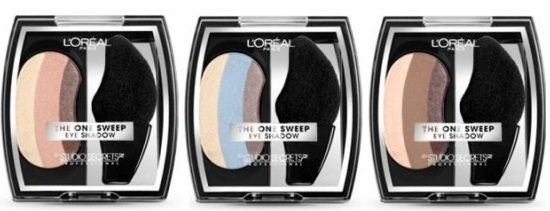 Three L'Oreal Paris Shadows