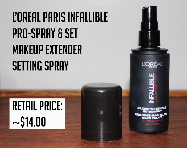 L'Oreal set and spray