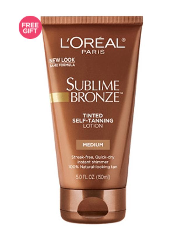 L'Oreal Sublime Bronze Lotion in Medium