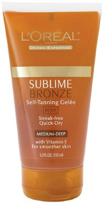 Loreal sublime self tanning gelee