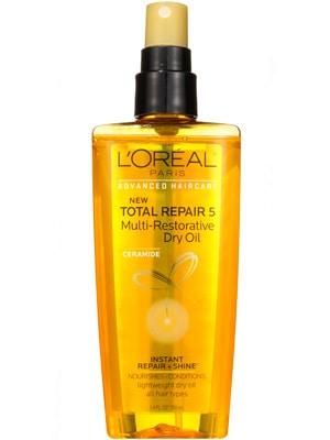 L'Oreal total repair 5 dry oil
