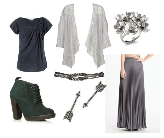 Fashion inspired by Lothlorien from Lord of the Rings
