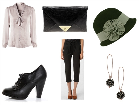 Louise Brooks Inspired Outfit 1