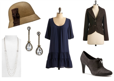 Louise Brooks Inspired Outfit 3