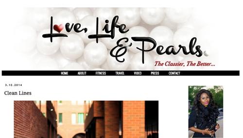Lovelifeandpearls homepage