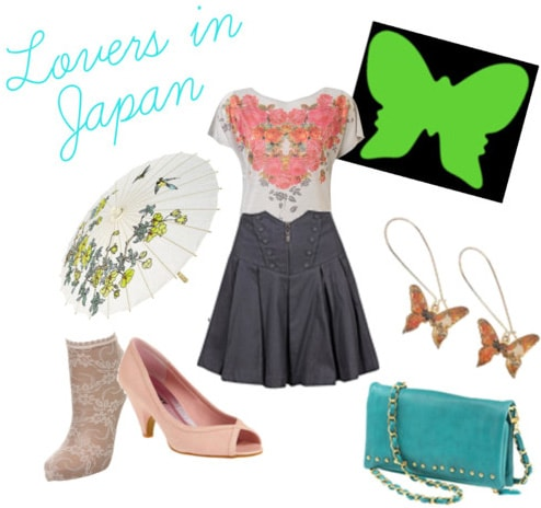 Coldplay Lovers in Japan outfit