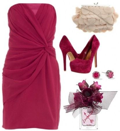 Vera Wang Lovestruck outfit 1