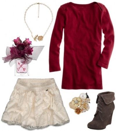 Vera Wang Lovestruck outfit 4
