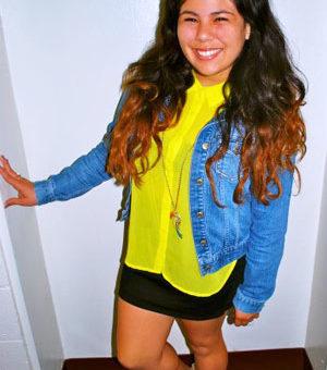 Fashion on campus: Marissa from Loyola Marymount University