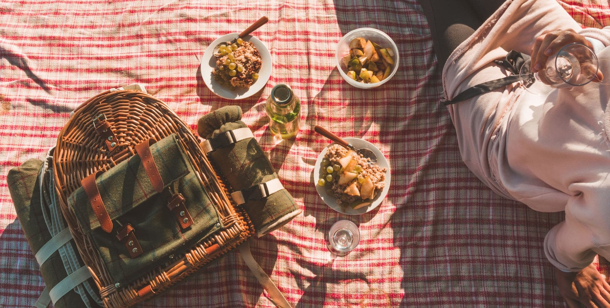 picnic, outdoors, lunch