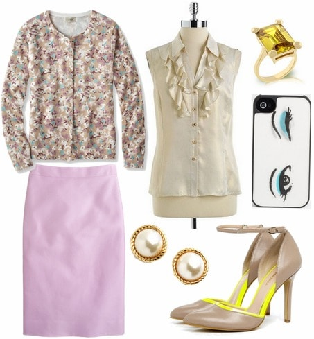 Lucille Bluth outfit