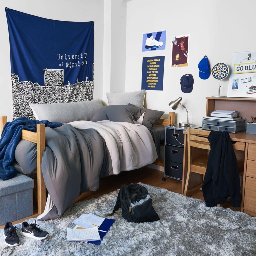School Pride Dorm Room