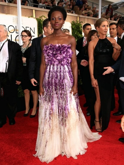 Lupita nyong'o at the 2015 golden globes