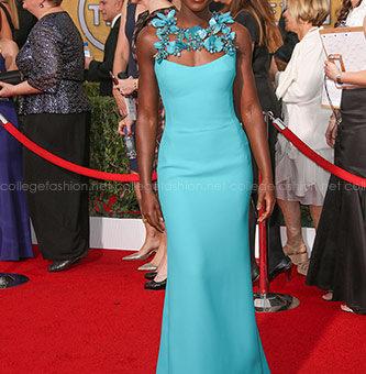 Lupita Nyongo in Gucci at the 2014 SAG Awards