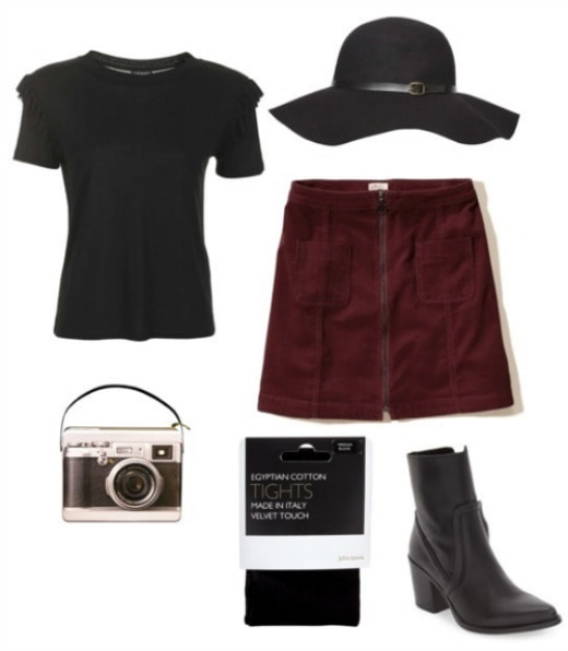 Lydia Deetz Inspired Outfit