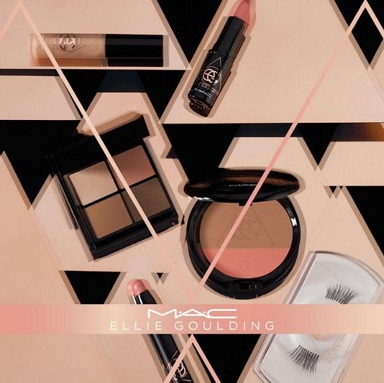 MAC x Ellie Goulding products