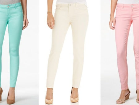 Macy's colored denim