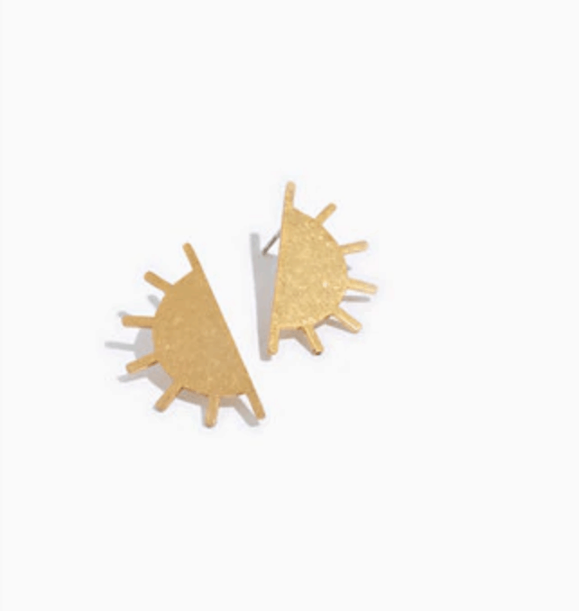 Madwell sun post earrings