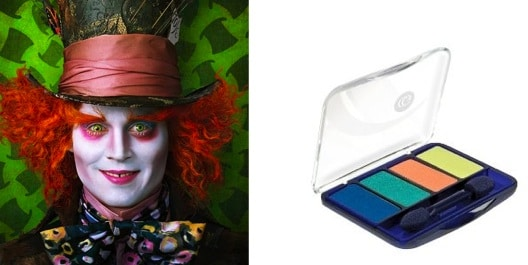 Beauty inspired by the mad hatter
