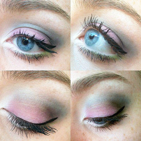 Spring eyeshadow tutorial using the Make Up for Ever Technicolor Palette
