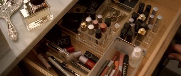 Drawer full of makeup