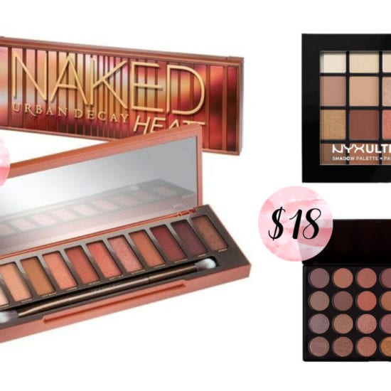 Urban Decay Naked Heat Palette Dupes