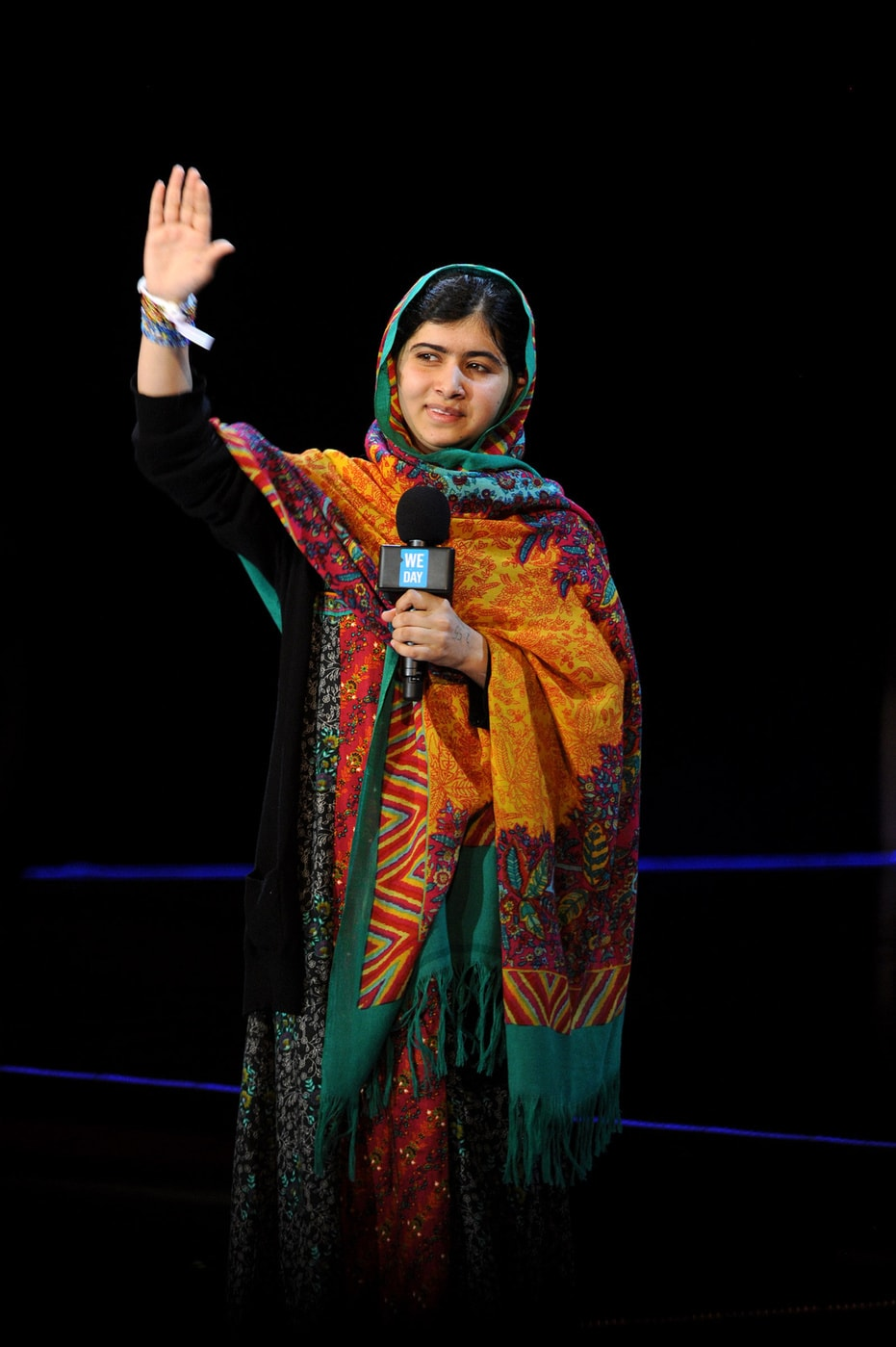 Malala Yousafzai at the We Day UK event in London