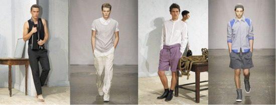 male models header