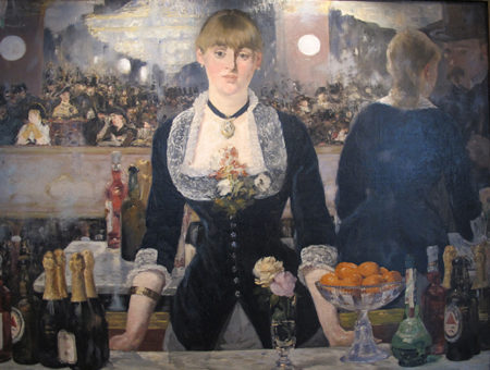 Édouard Manet's A Bar at the Folies-Bergère