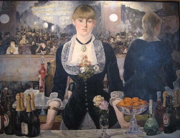 Édouard Manet's A Bar at the Folies-Bergère