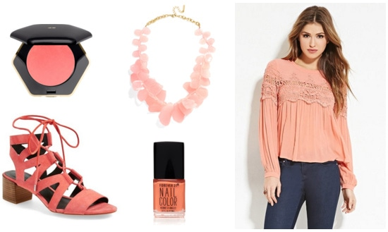 Mango colored clothes and accessories - spring 2016 fashion color trends