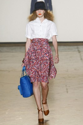 Marc by Marc Jacobs Pattern Skirt