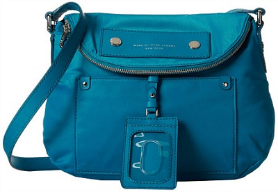 Marc by marc jacobs teal nylon crossbody