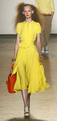 Marc by Marc Jacobs Yellow Dress