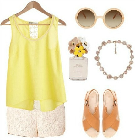 Marc jacobs daisy inspired outfit 2