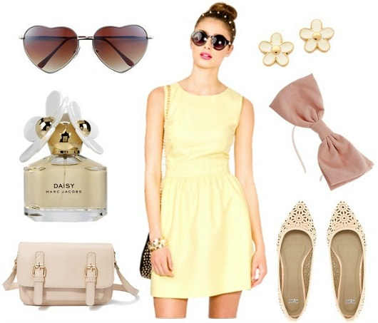Marc jacobs daisy outfit 1