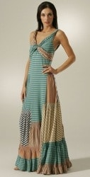Patchwork Maxi Dress by Marc Jacobs